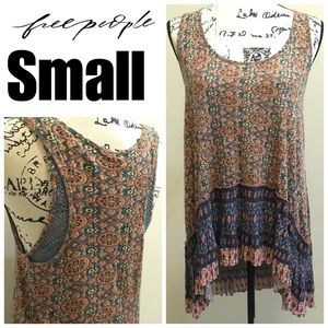 Sz S Free People Boho Tank